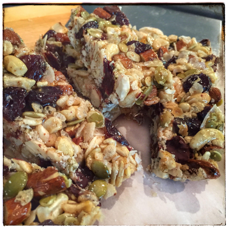 Tart Cherry, Dark Chocolate & Cashew Granola Bars – Samantha Eibling ...